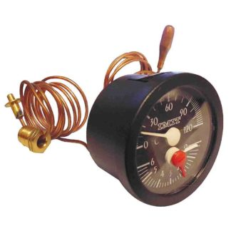 Grant Temperature & Pressure Gauge VBS09 Side View Photo