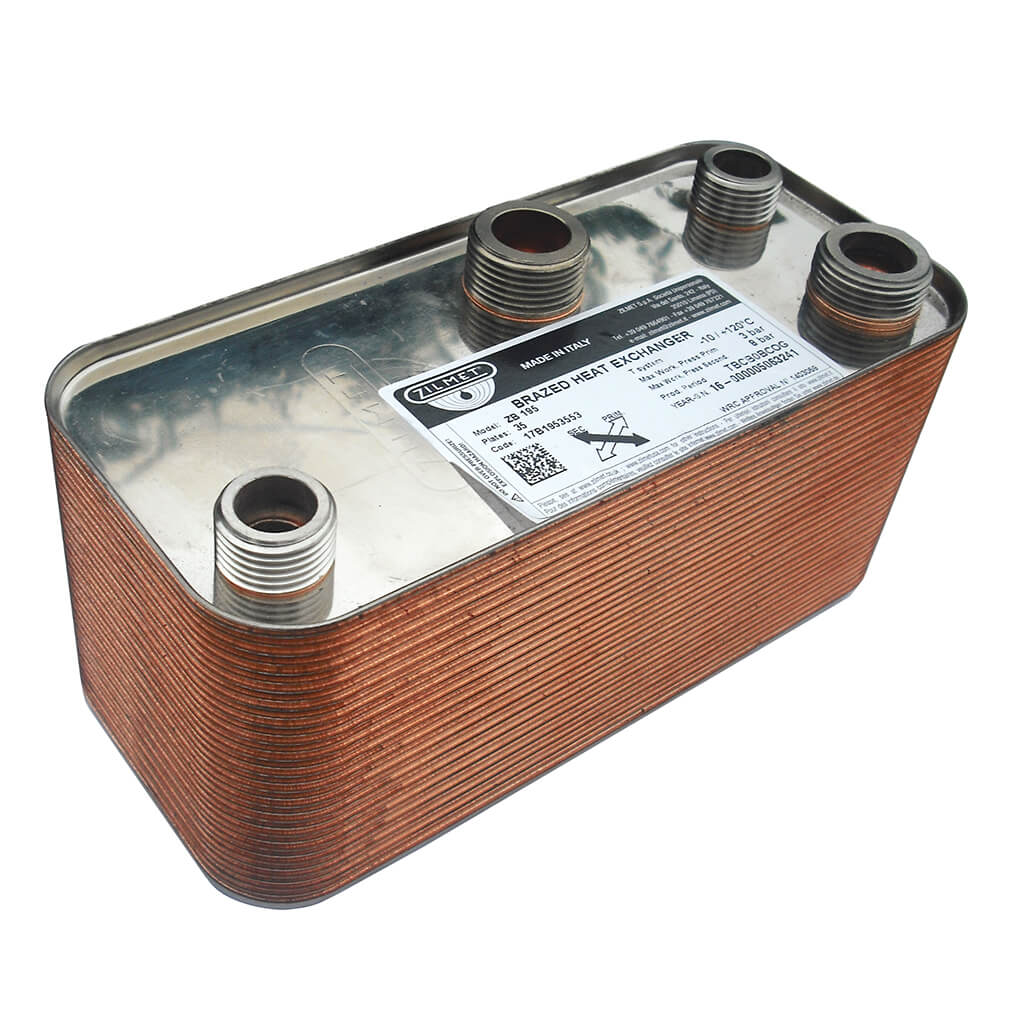 Grant Boiler Plate Heat Exchangers | Heating Parts Warehouse