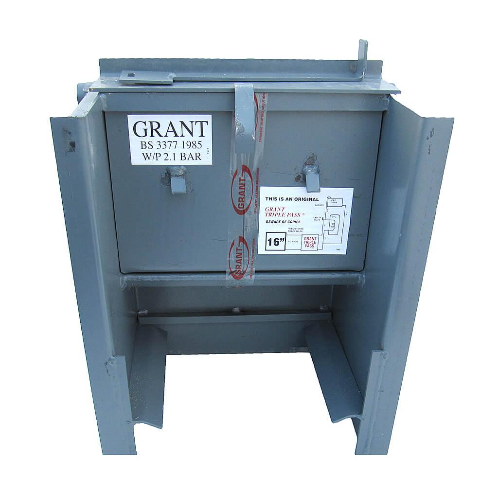 Grant Easy-Clean Triple Pass Back Boiler, 16″, BB16TRP | Buy at H.P.W.