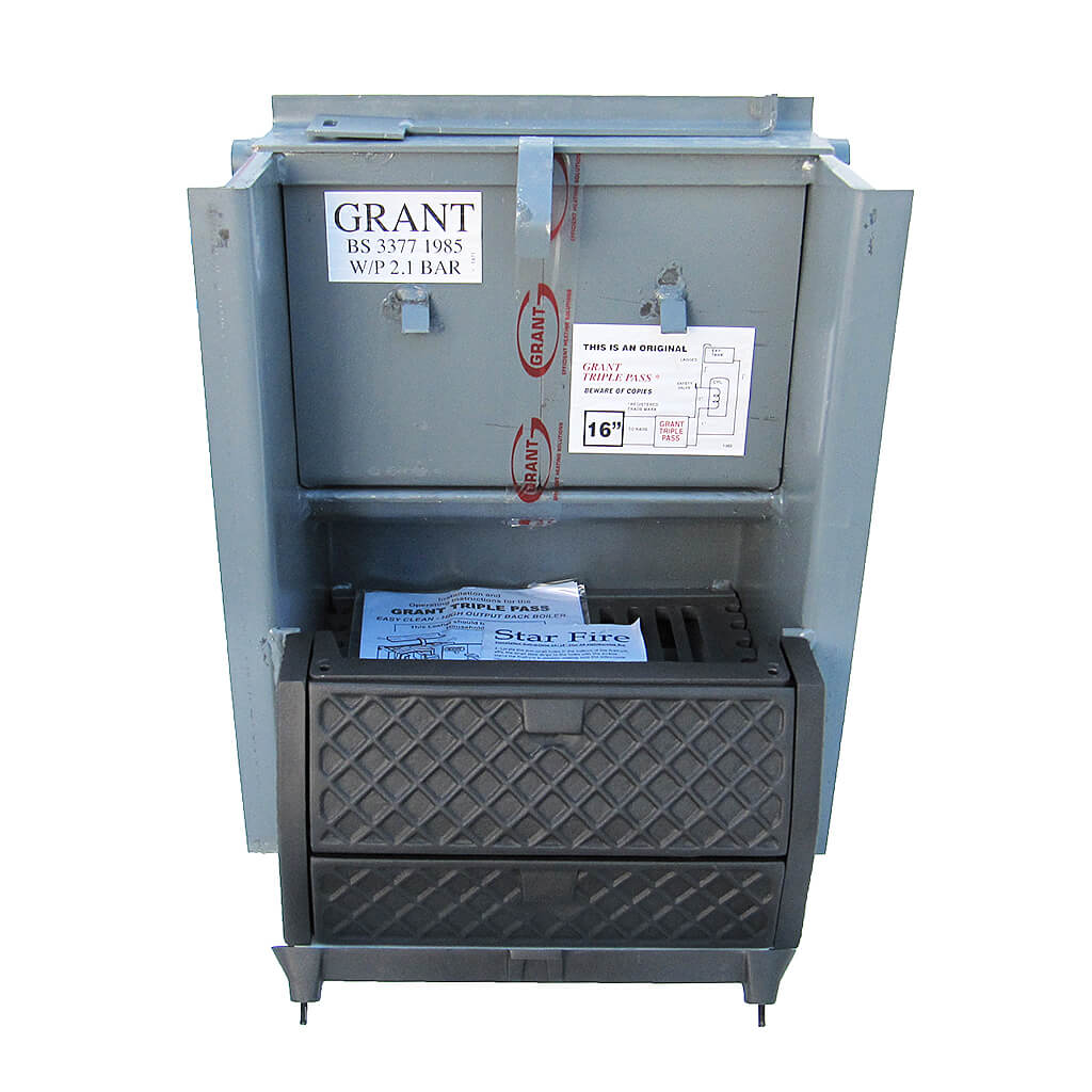 Grant Easy-Clean Triple Pass Back Boiler, 18″, BB18TRP | Buy at H.P.W.