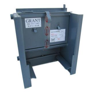 "Grant Easy-Clean Triple Pass Back Boiler, 18"""