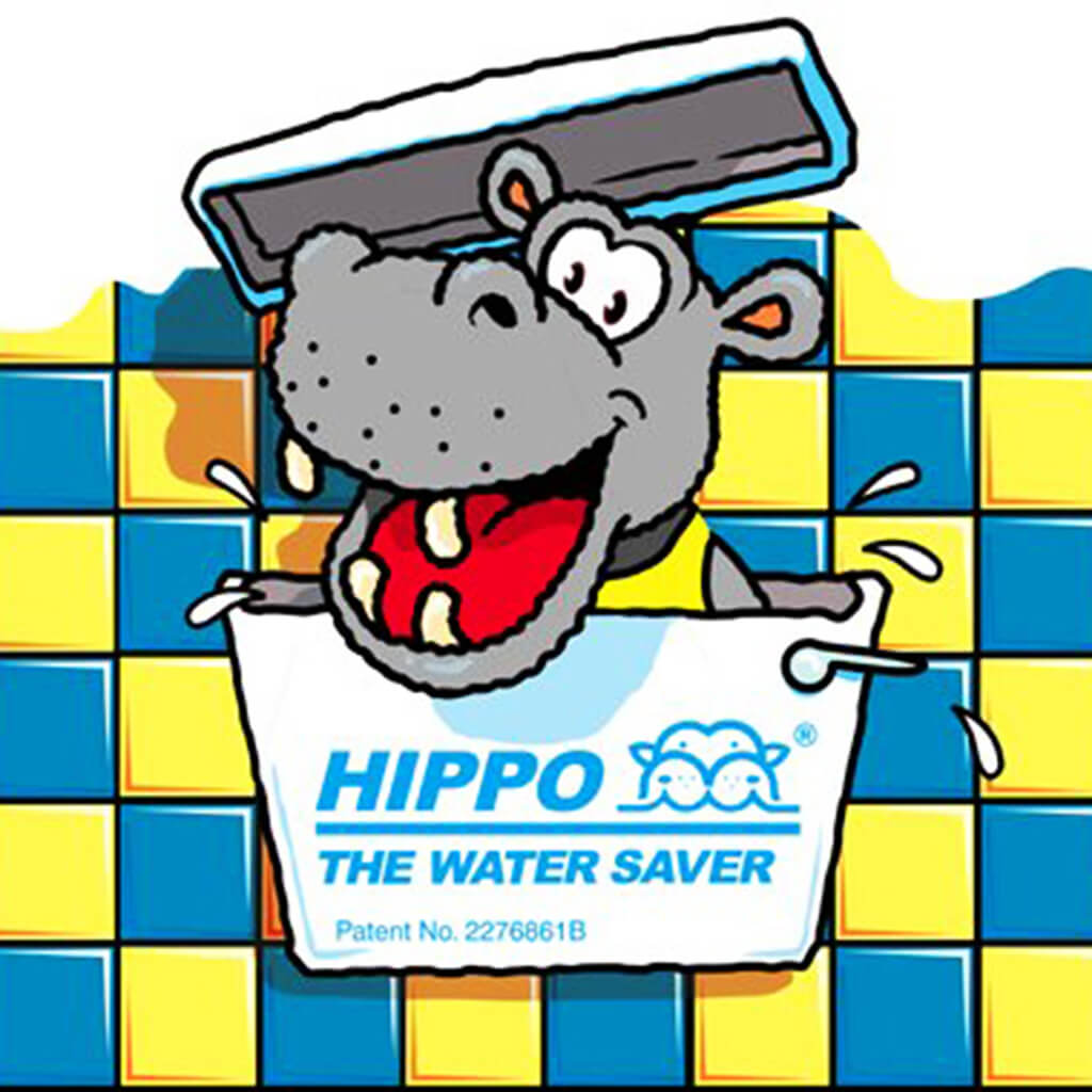 Hippo Water Saver Bags Not For Slimline Cisterns