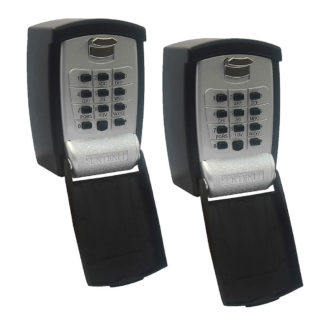Sentinel Push Button Key Safe twin pack