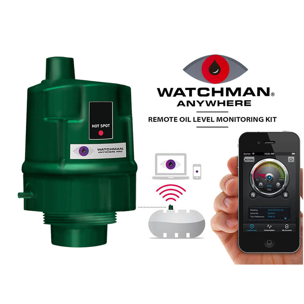 Smart Heating Oil Tank Level Gauge Energy Monitor Meter Watchman Sonic