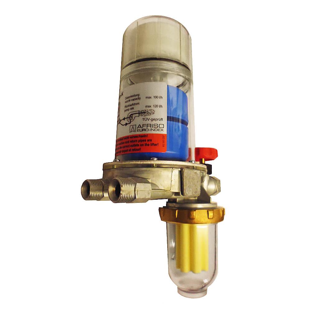Afriso FloCo Top 1 K Filter Combination Oil De-aerator