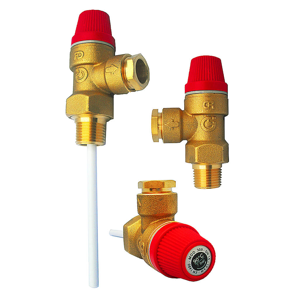 Altecnic Pressure And Temperature Relief Valve