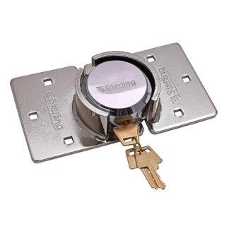 Sterling Van Lock 73mm Round Shackleless Padlock complete