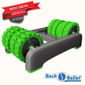 BackBaller Foam Roller With Teeth