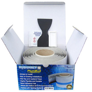 Sealux Hydrohalt PlumBud 2.5m Box Contents