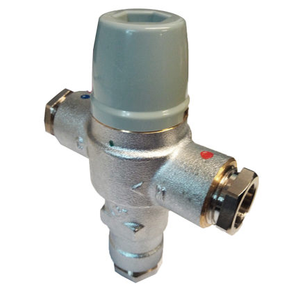 Firebird Combi Thermostatic Mixing Valve ACCCOMTMV Side View Photo