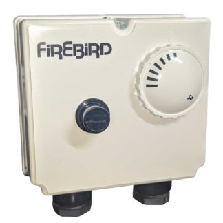 Firebird Heatpac Thermostat Front Photo
