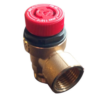 Warmflow 3Bar Pressure Relief Valve 2132