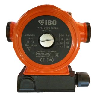 IBO Circulating Pump, 25-80/180 front