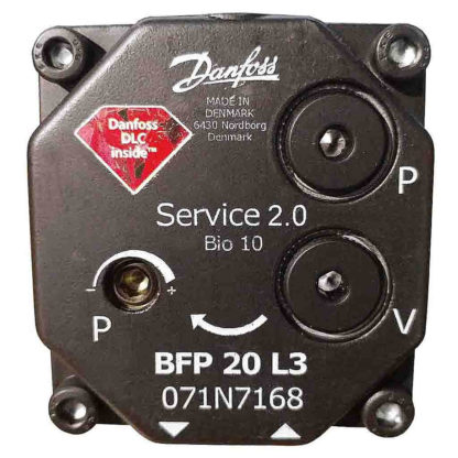 Danfoss Oil Pump BPF 20 L3 071N0168 Closup Photo