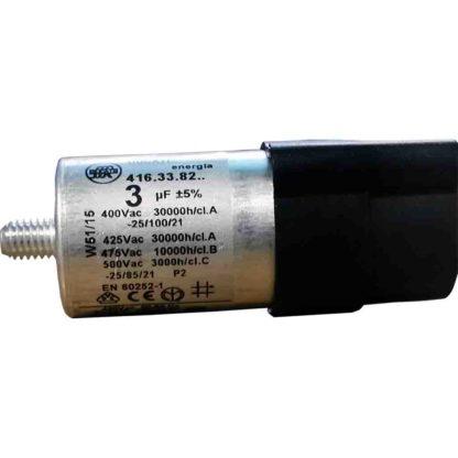 CAPACITOR 3µF 2p AEG 50-75W MAX 1-4 (uF)