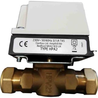 Danfoss HPA2 Actuator and Valve Pack 1