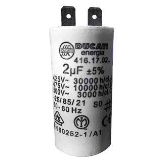 Ecoflam C107 Capacitor, 2uF 65070296