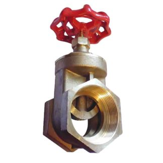 Brass Wheel Gate Valve 2