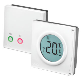 Danfoss RET2000B-RF+RX1S Electronic Digital RF Thermostat with Receiver