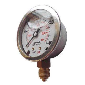 Pressure Gauge R1-4 D50 40 Bar 3142096