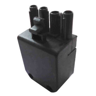 Riello 4 PIN PLUG Part No. 3007418 Side View Photo