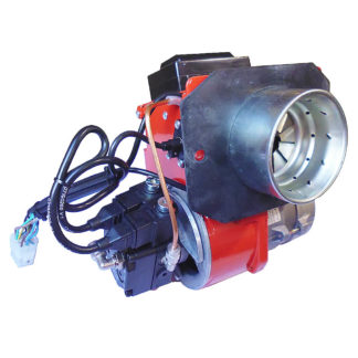 Ecoflam Minor 1 Twin Stage Burner 80k for Stanley Boiler 3140848 Left Side View Photo