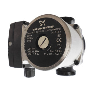 Grundfos Circulating Pump UPS2 25-40:60 130 Side View Photo