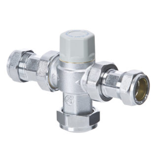Thermostatic Mix Valve 15mm CA-100822