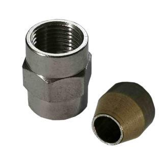 Ecoflam Burner Fuel Pipe & Oil Pipe Nut 65074474, Y432-1