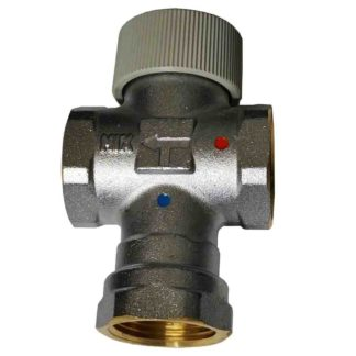Caleffi-520640-1-4060C-Thermostatic-Adjustable-Mixer