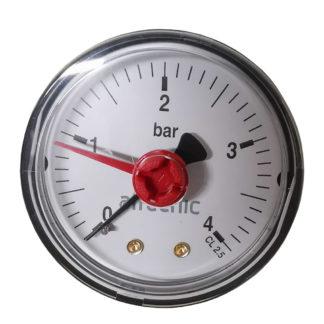 Altecnic 0-4 Bar Back Connection 14 Pressure Gauge (1)