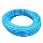MDPE 20mm x 50m PE80 Blue Polyethylene Pipe, H9614, 3038117