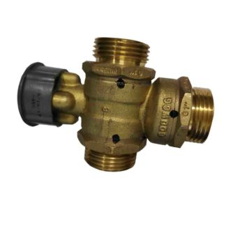 Warmflow 24VAK 3 port Valve Brass body