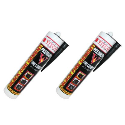 Black Fire Cement 1250 C - Two Pack - 310ml