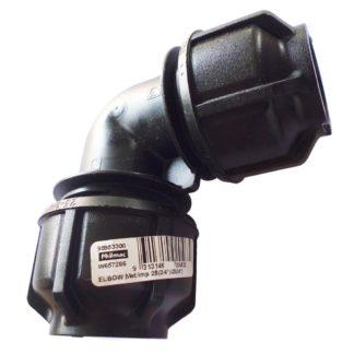 "Philmac 20mm (1/2"") Poly Equal Elbow 9522"
