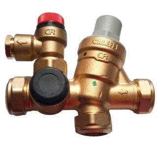 Caleffi Cold Water Control Valve, 22mm, 3-6 Bar 2 Pack