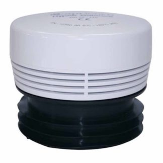 White HypAirBalance Internal Air Admittance Valve Fits 70mm To 110mm Pipe