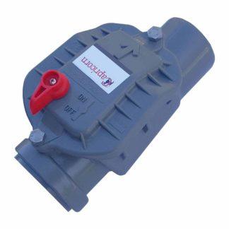 50mm Non Return Backflow Flood Prevention Valve Single Plastic Flap