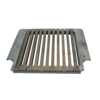 """Grant Queenstar Grate, Square Front, 18"""" Front Photo"""