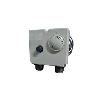Turco Condensing Dual Thermostat Front Pic