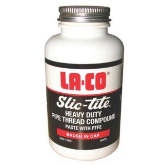 LA-CO Slic-tite Heavy Duty Pipe Thread Compound Paste (120ml) Front Photo