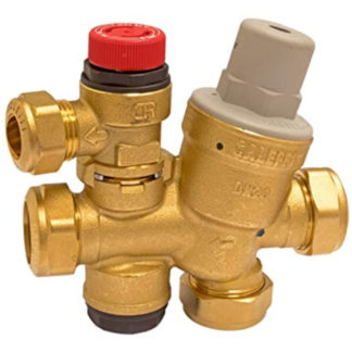 Caleffi Multibloc (Cold) Water Control Valve 3 & 6 Bar Front View