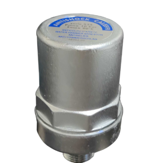"Caleffi AntiShock - Water Hammer Arrester ½"" (WRAS Approved) Front Top Photo"