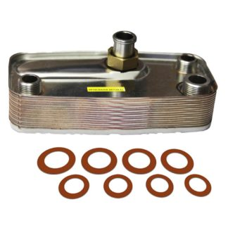 Turco 15 Plate Heat Exchanger With Washers