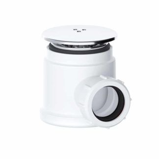 """Viva Shower Trap, 1½"""" (50mm Tray) Front Photo"""