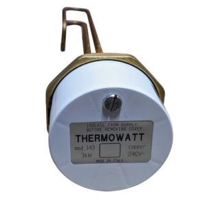 "Ariston Thermowatt 14"" Copper Immersion Heater, 3kW"