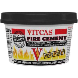 Vitcas Black Fire Cement, 500g Front Photo