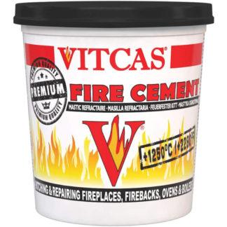 Vitcas Black Fire Cement, 2kg Front Photo
