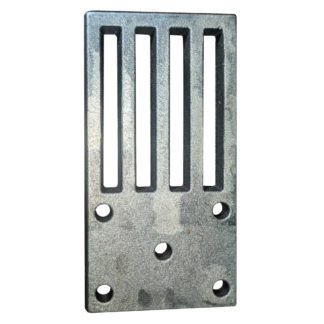 """Firebird Inset Stove Grate, 16"""" Front Photo"""