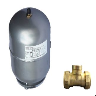 ATC 2 Litre Expansion Tank With 22mm CxFxC Tee Front Photo